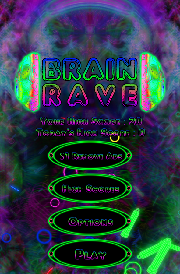 Brain Rave- screenshot