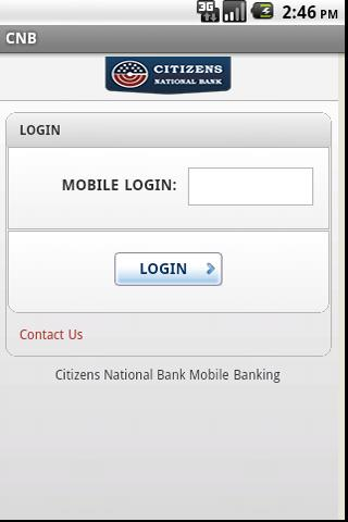 CITIZENS NATIONAL BANK TEXAS- screenshot
