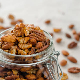 Chili Spiced Mixed Nuts.