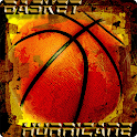 Basket ball hurricane icon