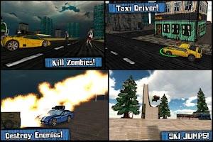 Screenshot of Cars And Guns 3D FREE