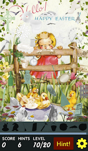Hidden Object - Happy Easter- screenshot thumbnail