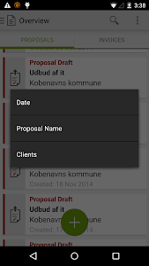 Proposal Engine screenshot 3