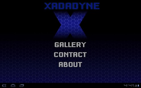 Xadadyne Tablet - screenshot thumbnail