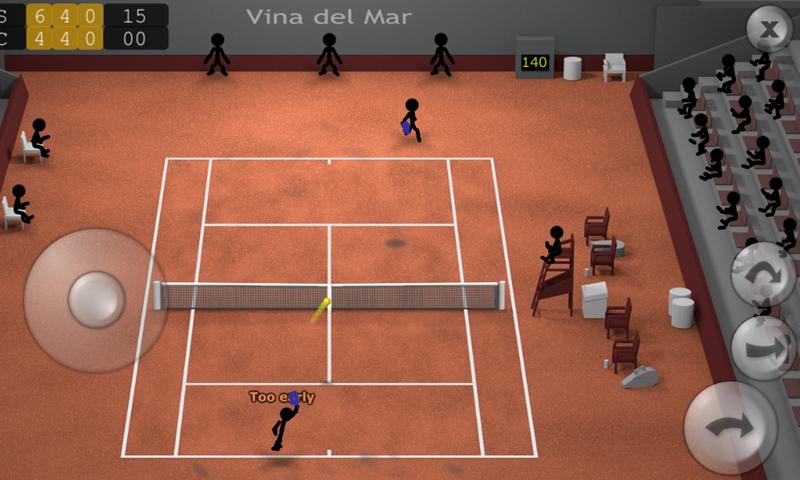 Stickman Tennis screenshot #11