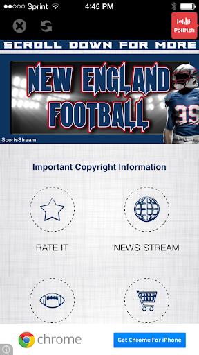 【免費運動App】New England Football STREAM-APP點子