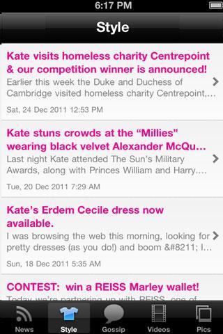 Kate Middleton Up-Close!- screenshot