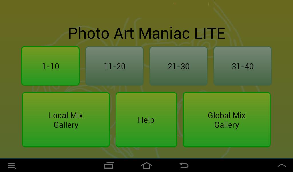 Photo Art Maniac LITE screenshot #8