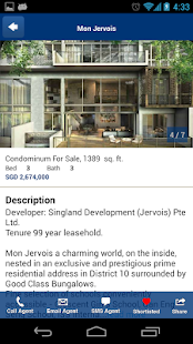 Singapore Property Search - screenshot thumbnail
