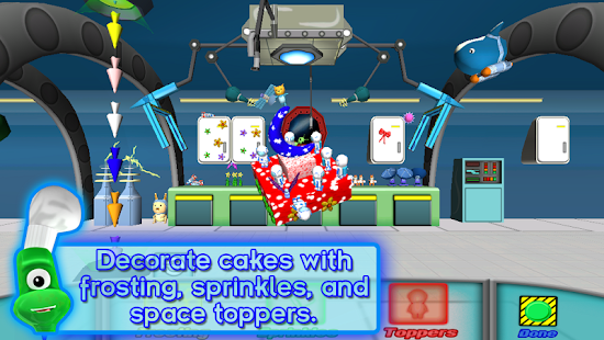 SPACE CAKES -math/numbers FREE - screenshot thumbnail