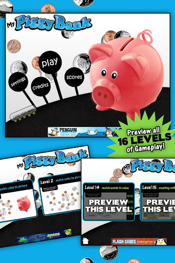 Learning Gems Piggy Bank LITE