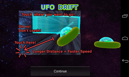 UFO Drift- screenshot thumbnail