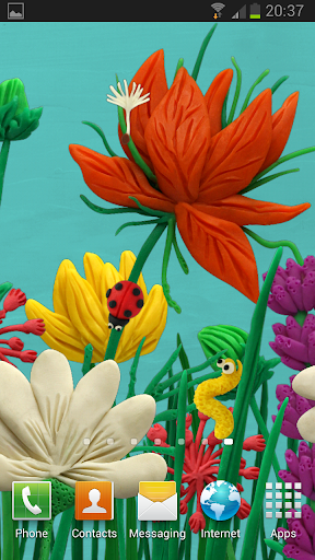 KM Flowers Live wallpaper Free