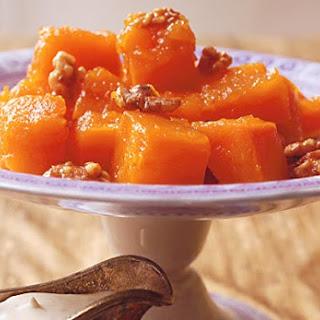Sweet Pumpkin with Walnuts
