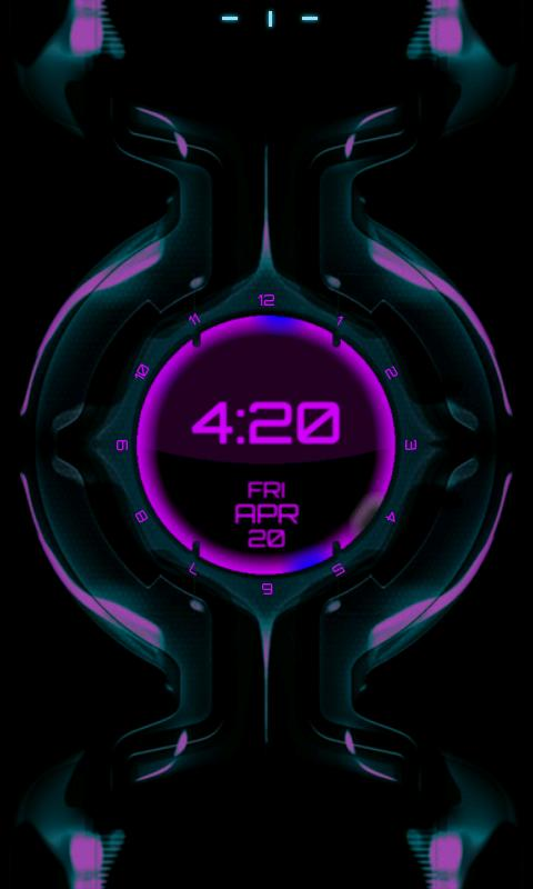 Legacy Clock Live Wallpaper - screenshot