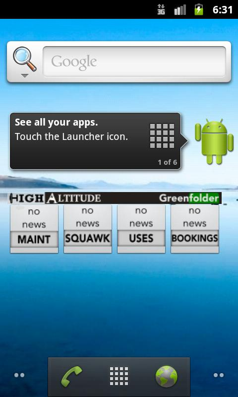 HAFC Greenfolder Reader - screenshot