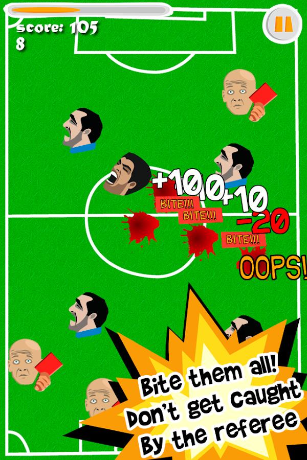 Angry Suarezzz - screenshot
