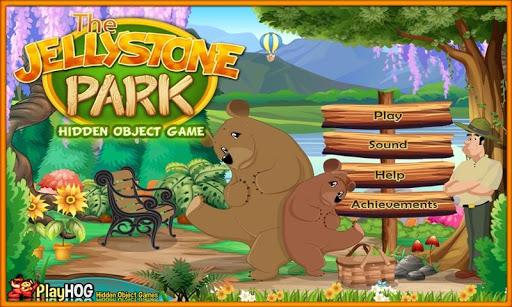 Jellystone Park Hidden Objects