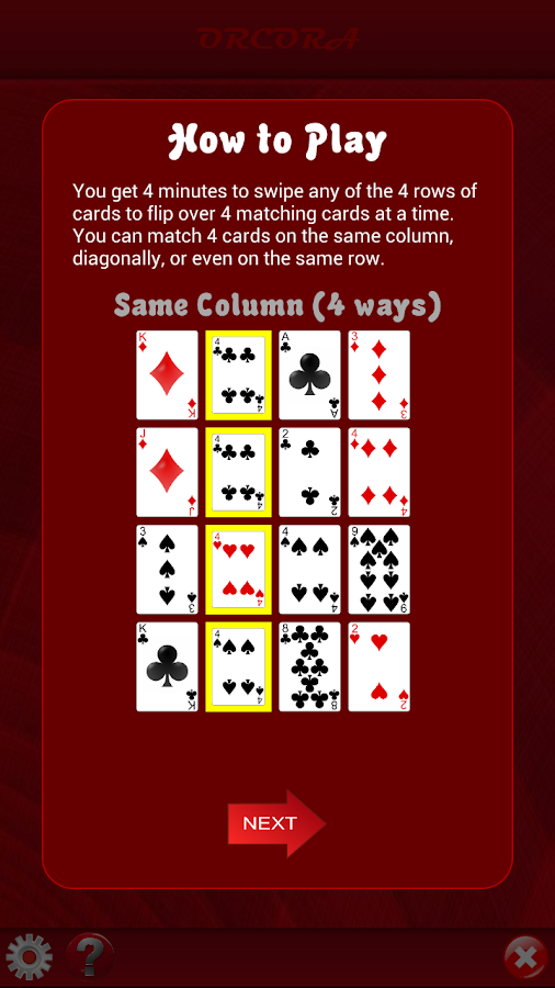 Game of 4- screenshot