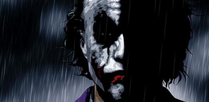 Joker Livewallpaper - живые обои с Джокером из фильмов про Бэтмэна