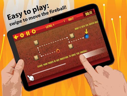 Fireball Game: Puzzle Escape - screenshot thumbnail