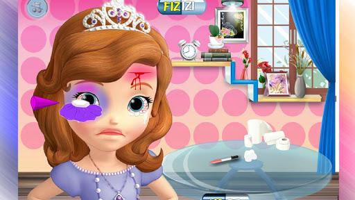 Girl Head Injury