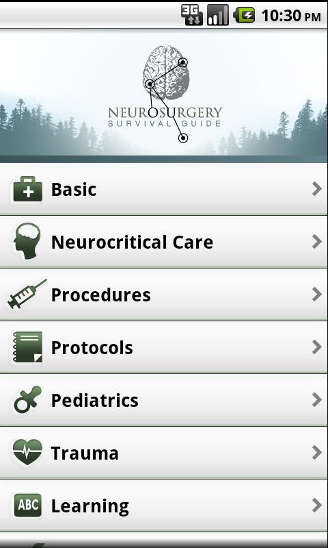 Neurosurgery Survival Guide- screenshot