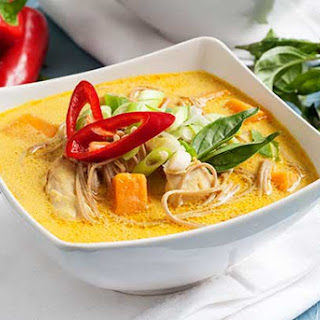 Gluten Free Curry Noodle Soup