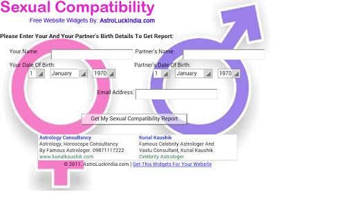 Zodiac Sexual Compatibility