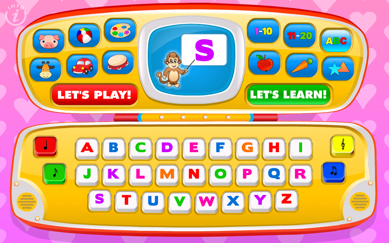 Kids Toy Phone Learning Games- screenshot