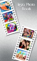 Screenshot of Photo Booth Editor