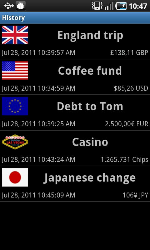 Cash Counter (ad-free)- screenshot