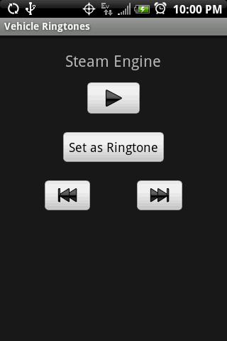 VEHICLE Ringtones - screenshot