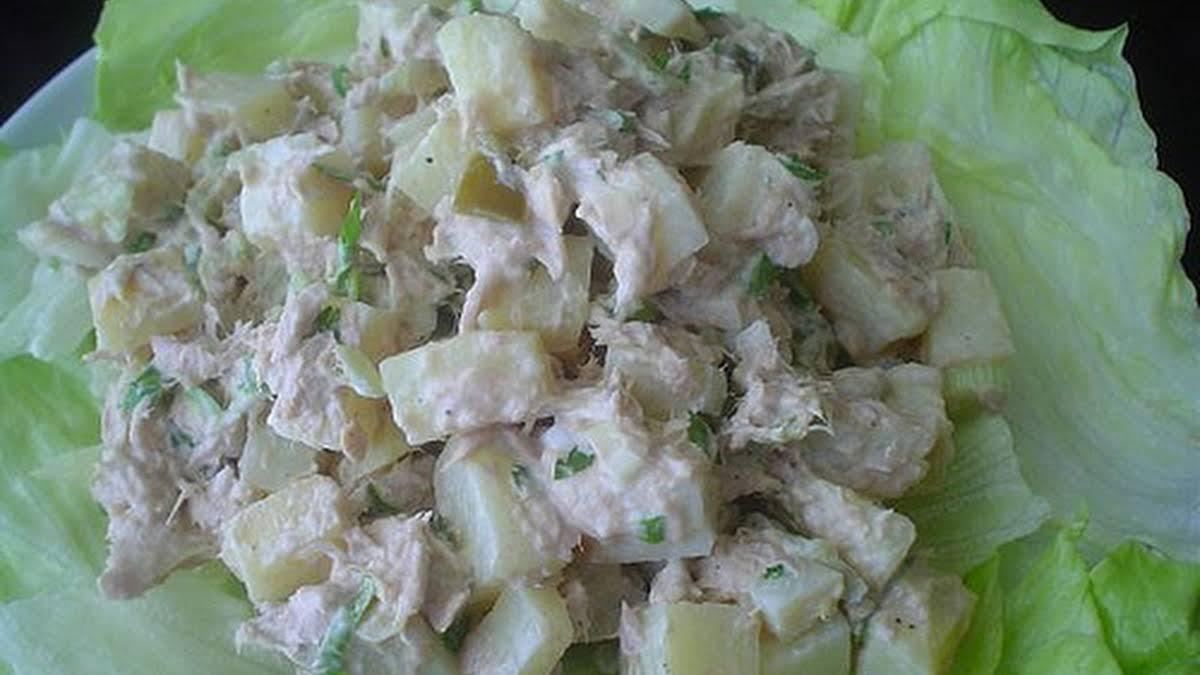 Potato And Tuna Fish Salad