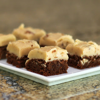 Chocolate Fudge Brownies with Pecan Praline Frosting