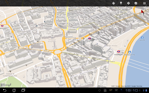 HD Wallpaper » Map Navigation