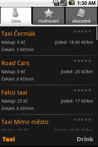 Czech Taxi- screenshot