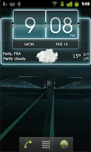 3D Flip Clock Theme Pack 04 - screenshot thumbnail