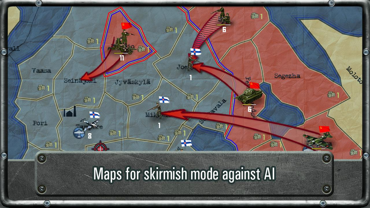 Strategy & Tactics: WW II Free- screenshot