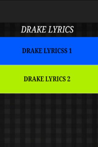 Drake - Just The Lyrics
