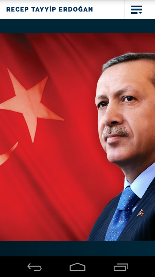 RTE Recep Tayyip Erdoğan - screenshot