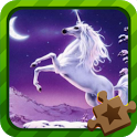 Jigsaw Puzzle Mythical Horse icon