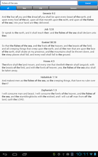 Holy Bible, King James Version - screenshot thumbnail