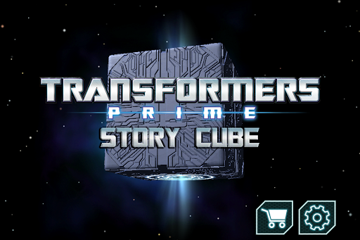 Transformers Prime Story Cube