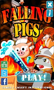 Falling Pigs for Android- screenshot thumbnail