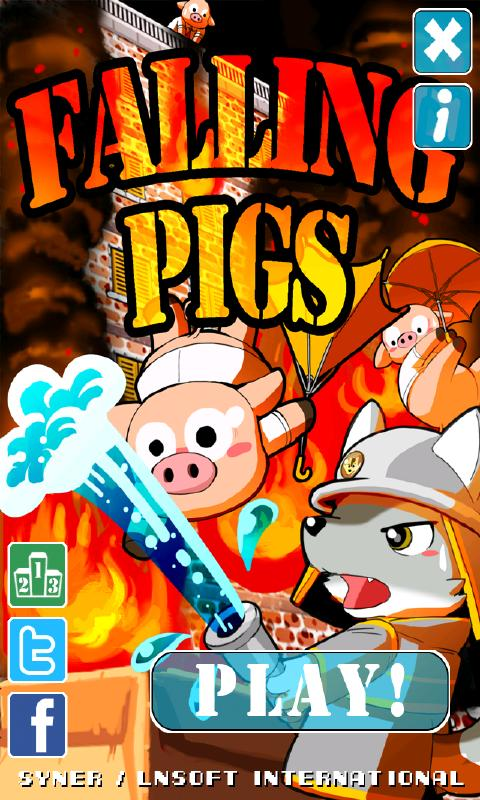 Falling Pigs for Android- screenshot