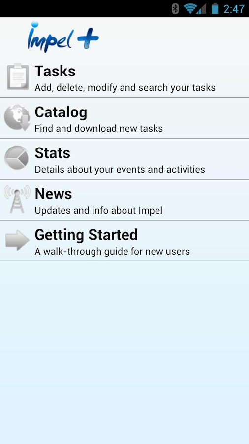 Impel - Automatic Tasks - screenshot