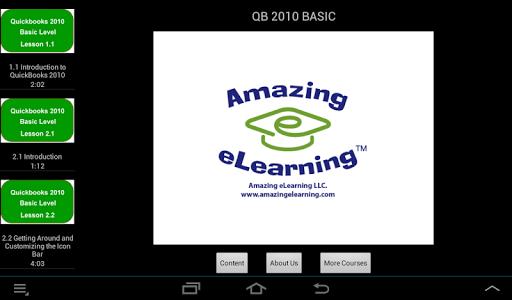 QuickBooks Training 2010 Basic
