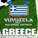 GREECE VUVUZELA and ANTHEM! logo