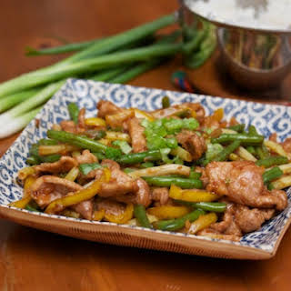 Pork and String Bean Stir Fry.